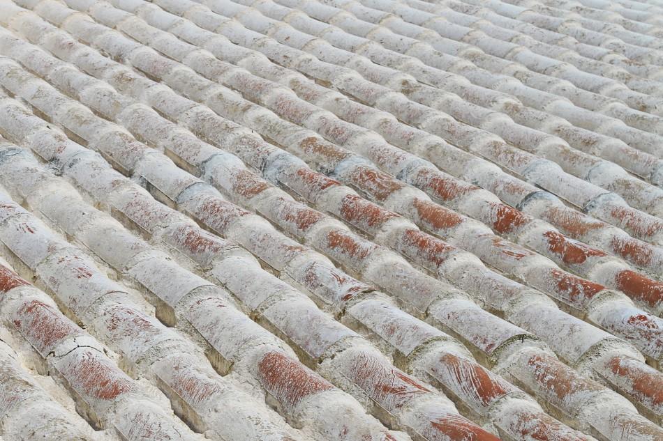 Weiße Dächer